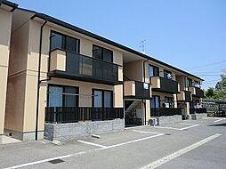 広島県広島市安佐南区祇園4丁目の賃貸アパートの外観