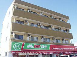 愛知県安城市桜井町塔見塚の賃貸マンションの外観