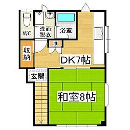 戸田マンション[3階]の間取り