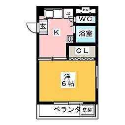 スターハイツ笠寺[4階]の間取り