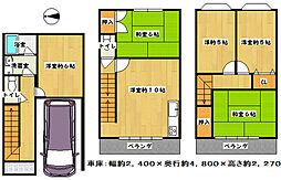 瓢箪山駅 1,150万円