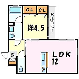ルーラルソフィアTM[1階]の間取り