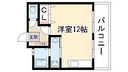 品川ビル[3階]の間取り