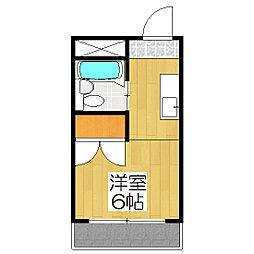石川マンション[305号室]の間取り