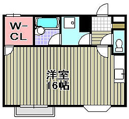 マンション桜[205号室]の間取り
