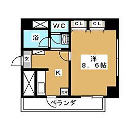 TC支倉[8階]の間取り