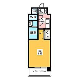 レシェンテ・ヴィラ・東福岡[6階]の間取り