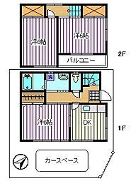 [一戸建] 埼玉県さいたま市桜区田島8丁目 の賃貸【/】の間取り