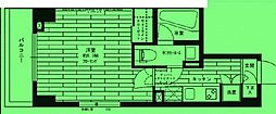 東京都江東区亀戸の賃貸マンションの間取り