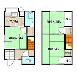 大場アパート[5号室]の間取り