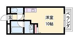 ソフィア21溝之口II[4階]の間取り