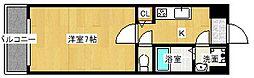 Goパレス福島[5階]の間取り