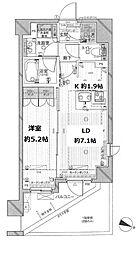 レジデンシャルステート中野富士見町[2階]の間取り