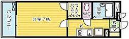 レオパレスKAZU[106号室]の間取り