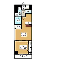 ロイジェント新栄IV[8階]の間取り