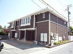 長野県飯田市鼎切石の賃貸アパートの外観