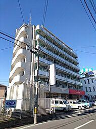 埼玉県川越市田町の賃貸マンションの外観