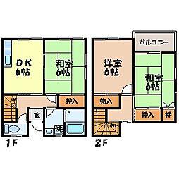 [テラスハウス] 長崎県長崎市大手3丁目 の賃貸【長崎県 / 長崎市】の間取り