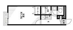 アムールHAGIWARA[201号室]の間取り