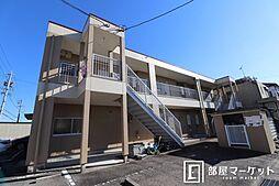 愛知県岡崎市大門4丁目の賃貸アパートの外観