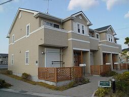 兵庫県姫路市別所町小林の賃貸アパートの外観