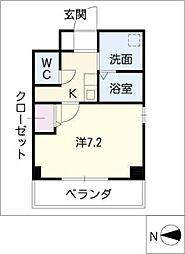 K's house 玉の井[8階]の間取り