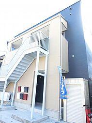 埼玉県行田市清水町の賃貸アパートの外観