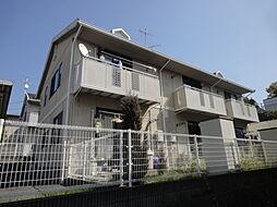 広島県安芸郡府中町石井城2丁目の賃貸アパートの外観