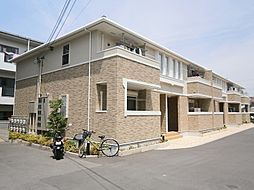 大阪府高槻市永楽町の賃貸アパートの外観