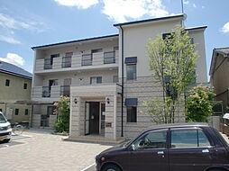 京都府京都市山科区北花山中道町の賃貸マンションの外観