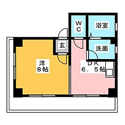 第一ビル[4階]の間取り
