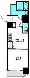 リーガル京阪守口[6階]の間取り