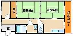 川本ビル[3階]の間取り