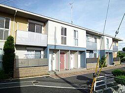 兵庫県宝塚市安倉中3丁目の賃貸アパートの外観