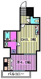 (仮称)川口市芝新町ヒルズマンション225[502号室]の間取り