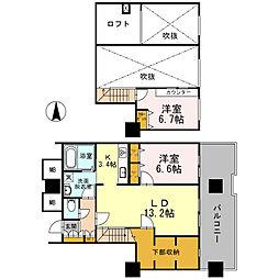 品川シーサイドビュータワーI[30階]の間取り