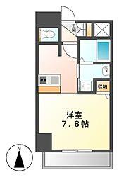 プレサンスNAGOYA桜通ビッグビート[5階]の間取り