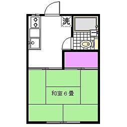 小倉コーポB[2階]の間取り