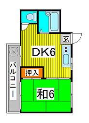 DRホームズ蕨II[3階]の間取り