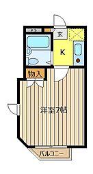 STAGE45[2階]の間取り