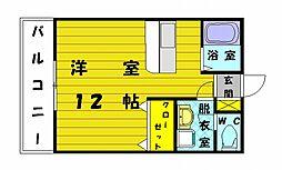 中野ビル[3階]の間取り