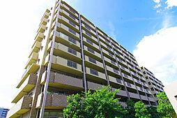 大阪府豊中市新千里東町二丁目の賃貸マンションの外観