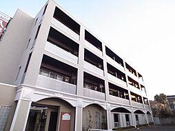 東京都調布市若葉町2丁目の賃貸マンションの外観