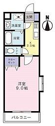 Mansion JULIA[3階]の間取り