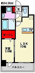仮)弥永5丁目マンション[506号室]の間取り