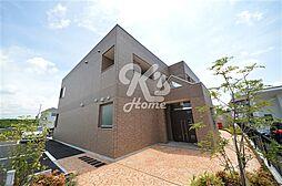 兵庫県三木市志染町広野8丁目の賃貸マンションの外観