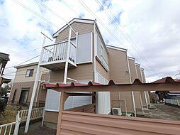 千葉県市原市山田橋3丁目の賃貸アパートの外観