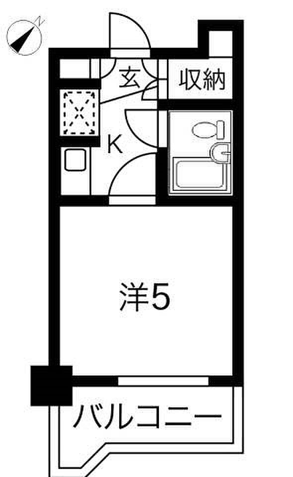間取り(504号室間取り)