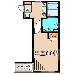 プリメーロ湘南[3階]の間取り