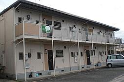 岡山県総社市中央四丁目の賃貸アパートの外観